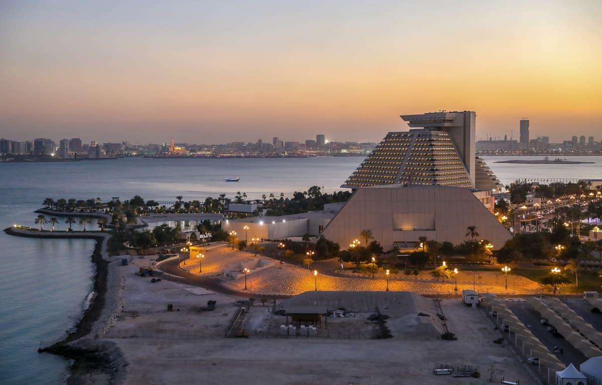 Hotelli Sheraton Qatarissa.