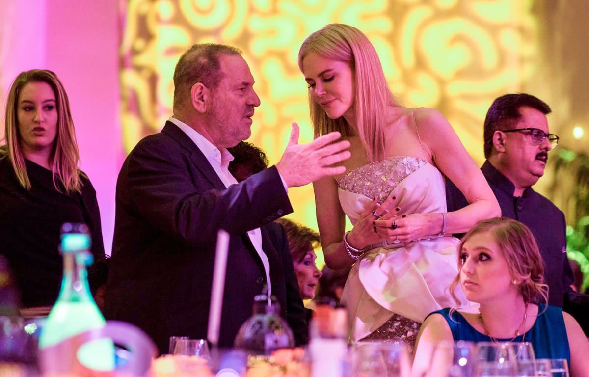 Harvey Weinstein Nicole Kidman