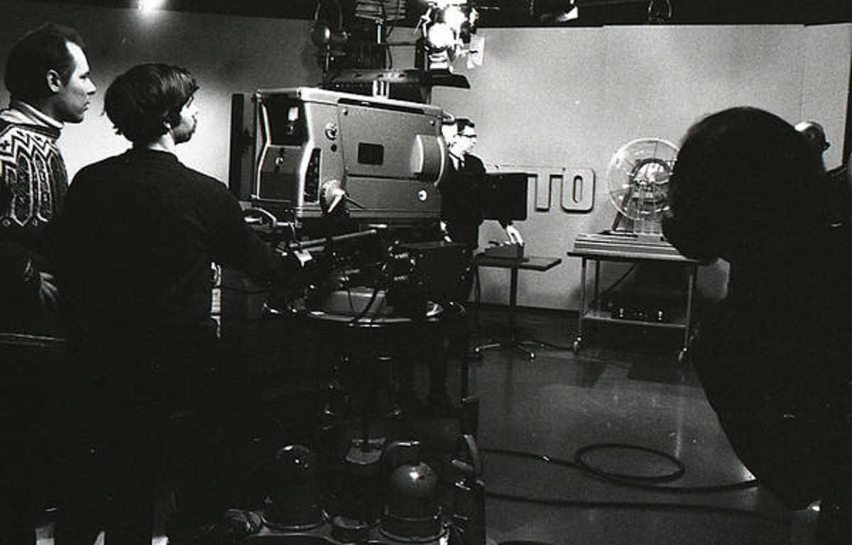 Ensimmäisen lottoarvonnan harjoitukset vuonna 1971.