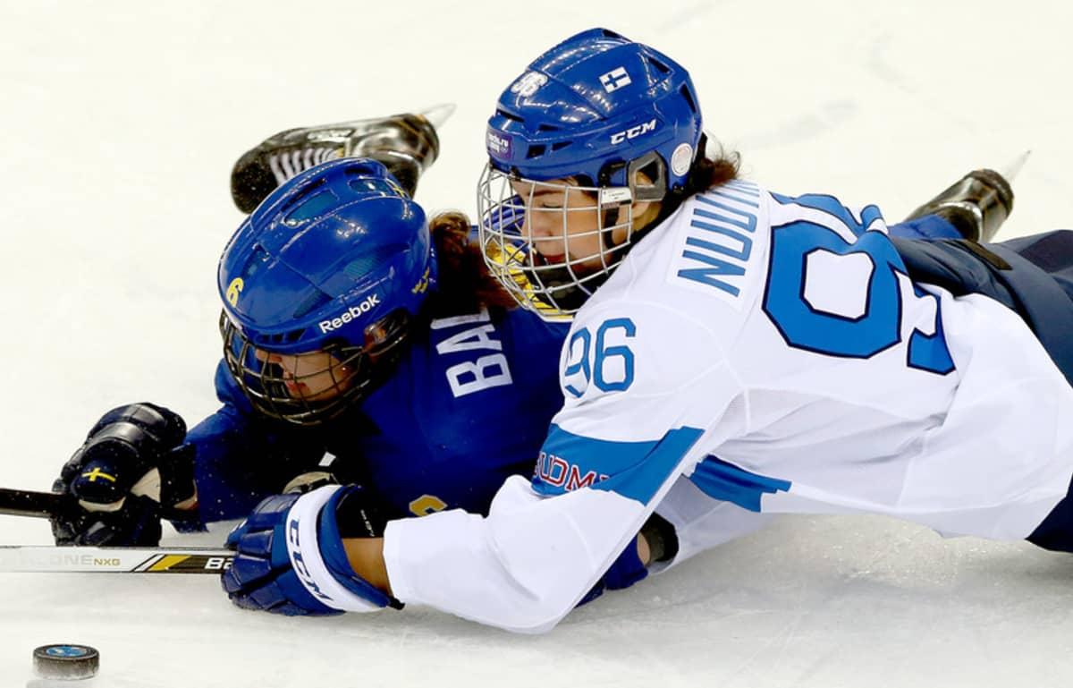 Suomi-Ruotsi jääkiekko naiset