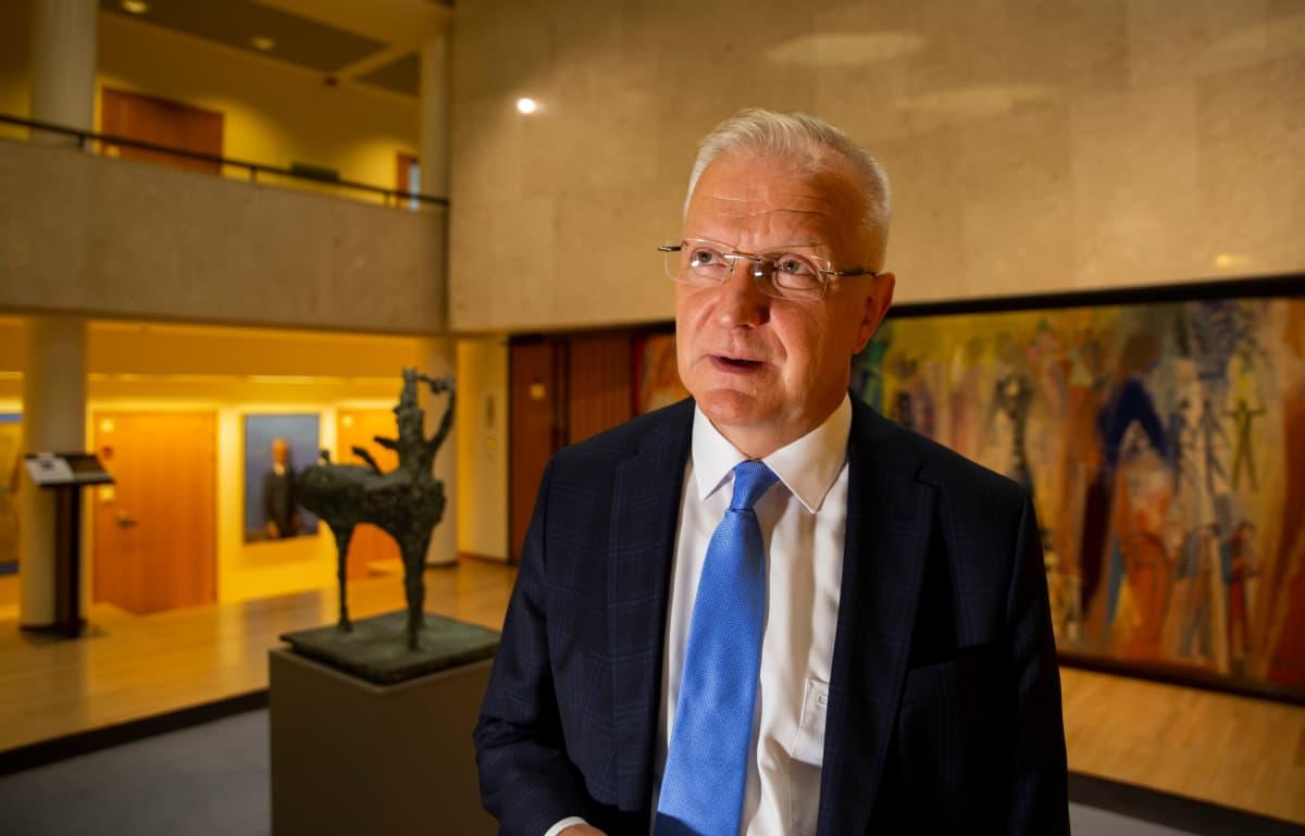 pääjohtaja Olli Rehn, Suomen Pankki