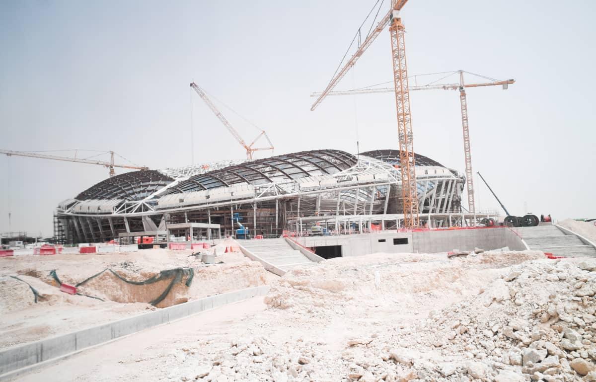Qatar rakennustyöt