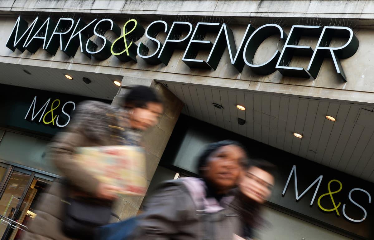 Lontoon Marks & Spencer.