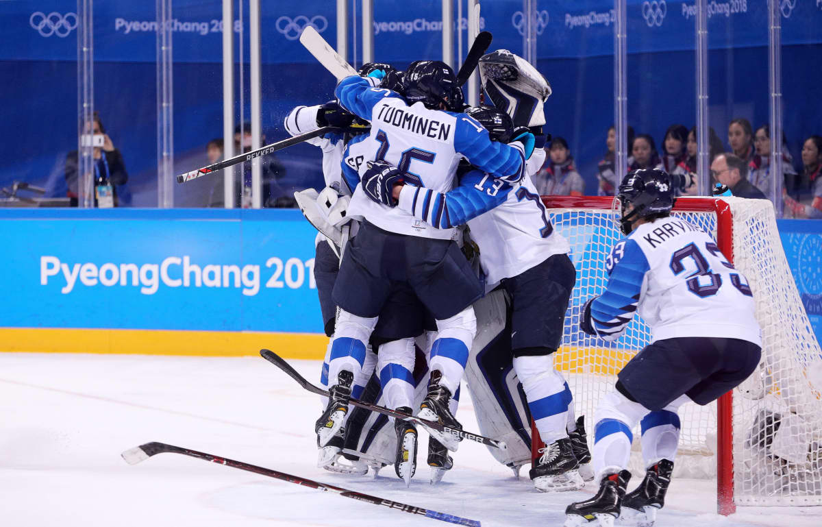 Suomen joukkue voitti viime talvena Pyeongcahngin olympialaisissa pronssia.