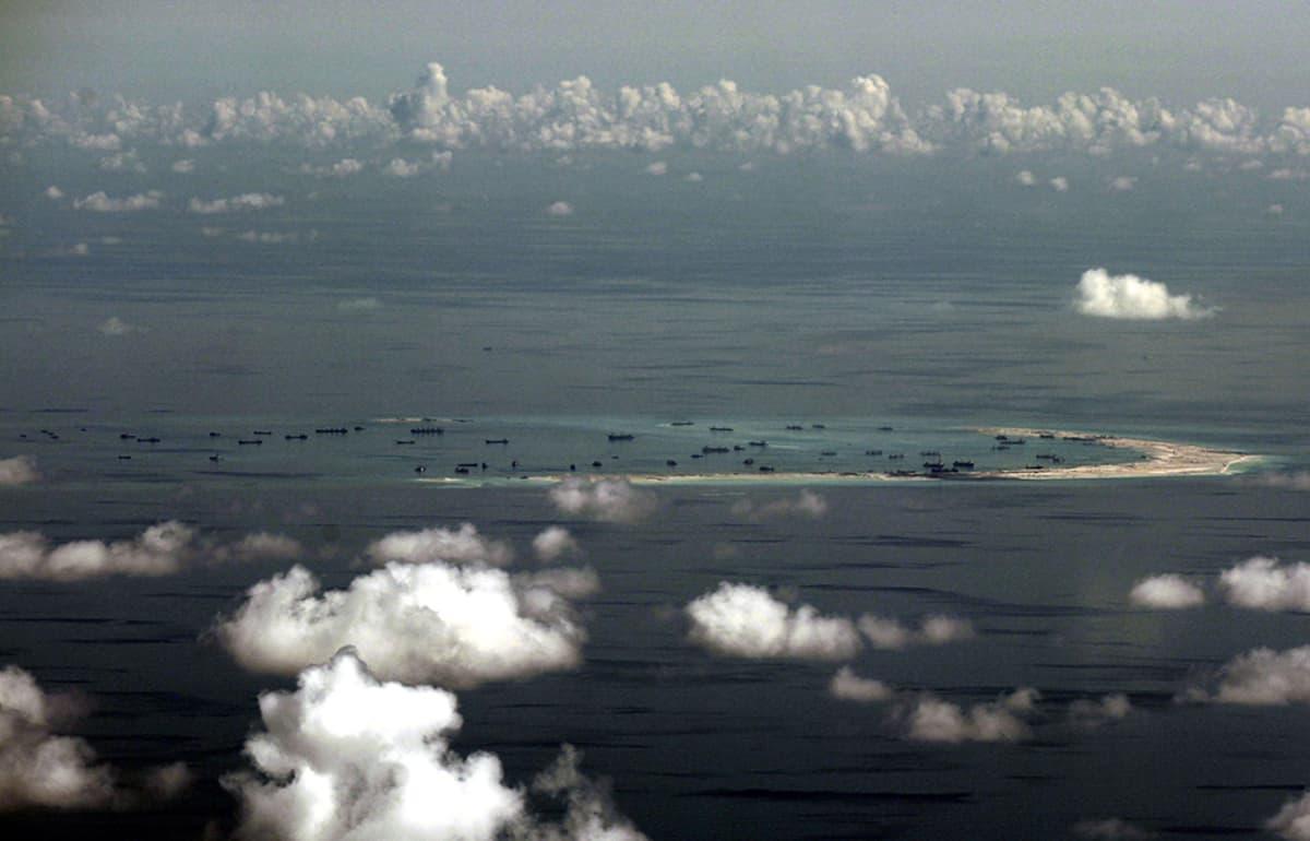 Spratlysaaret Etelä-Kiinan merellä