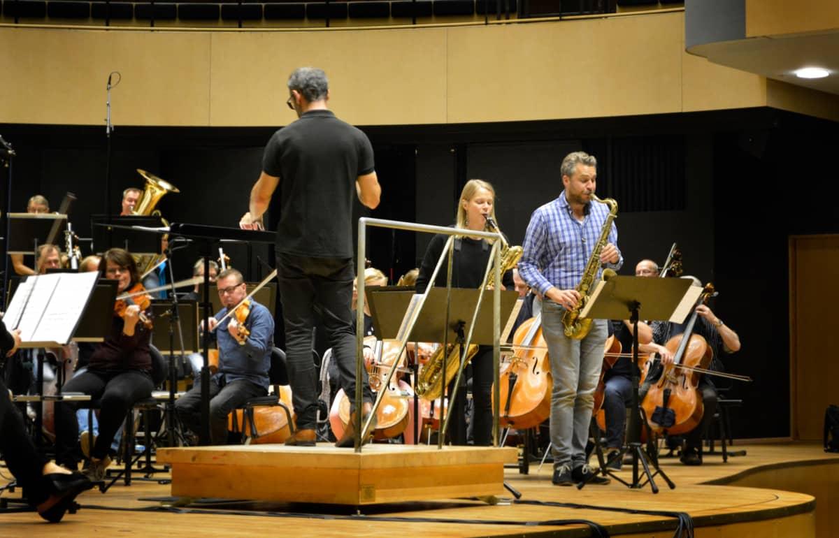 Kerkko Koskinen ja Lahden Sinfonia-orkesteri