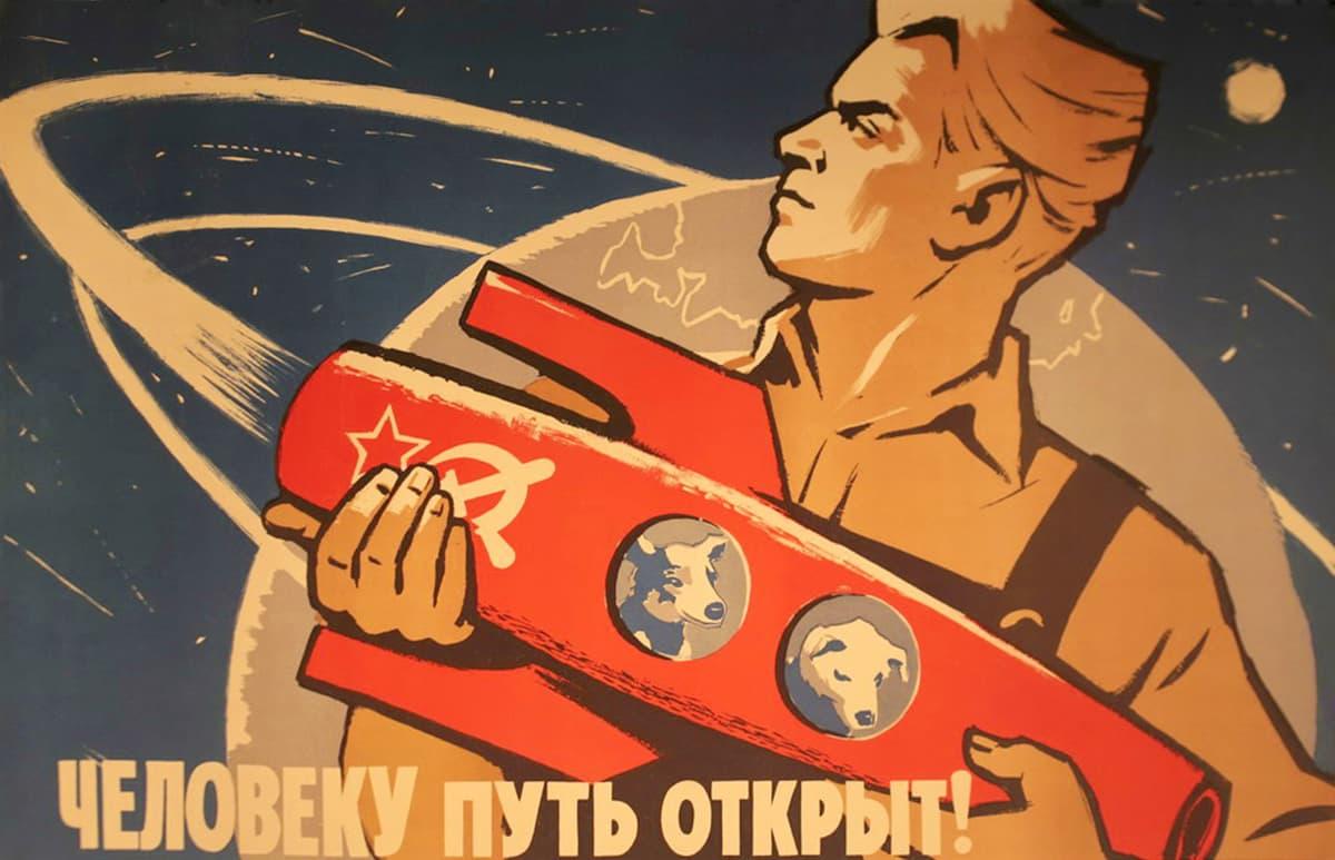 Venäläinen avaruusjuliste