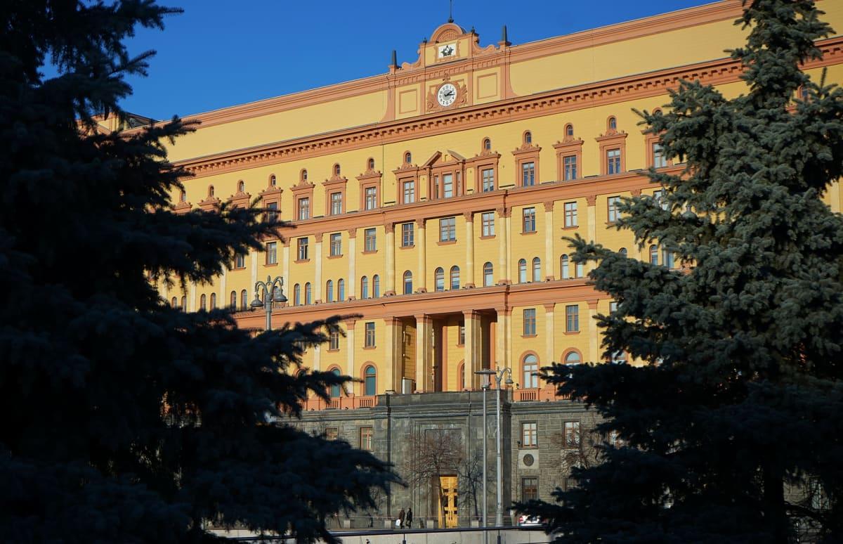 Turvallisuuspalvelu FSB:n päämaja Moskovassa.