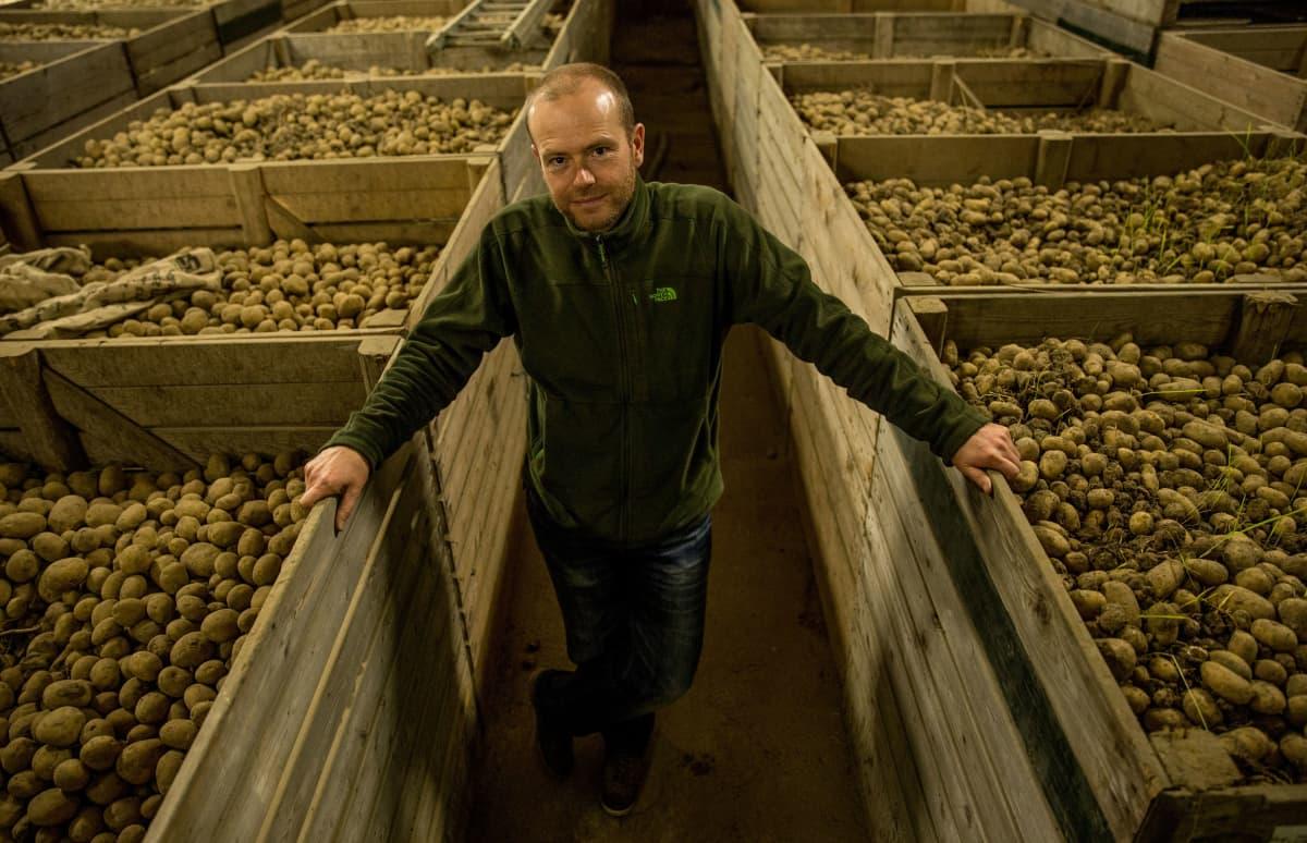 Arjen de Vosille huippuhetki oli löytää suolaa sietävä peruna, joka voisi merkitä ruokaturvaa miljoonille.
