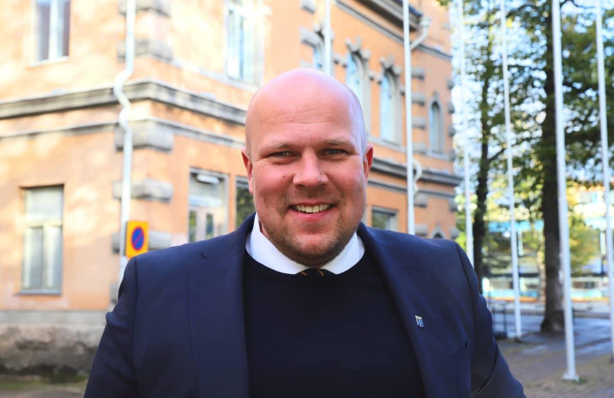 Rauman kaupunginhallituksen puheenjohtaja Kalle Leppikorpi