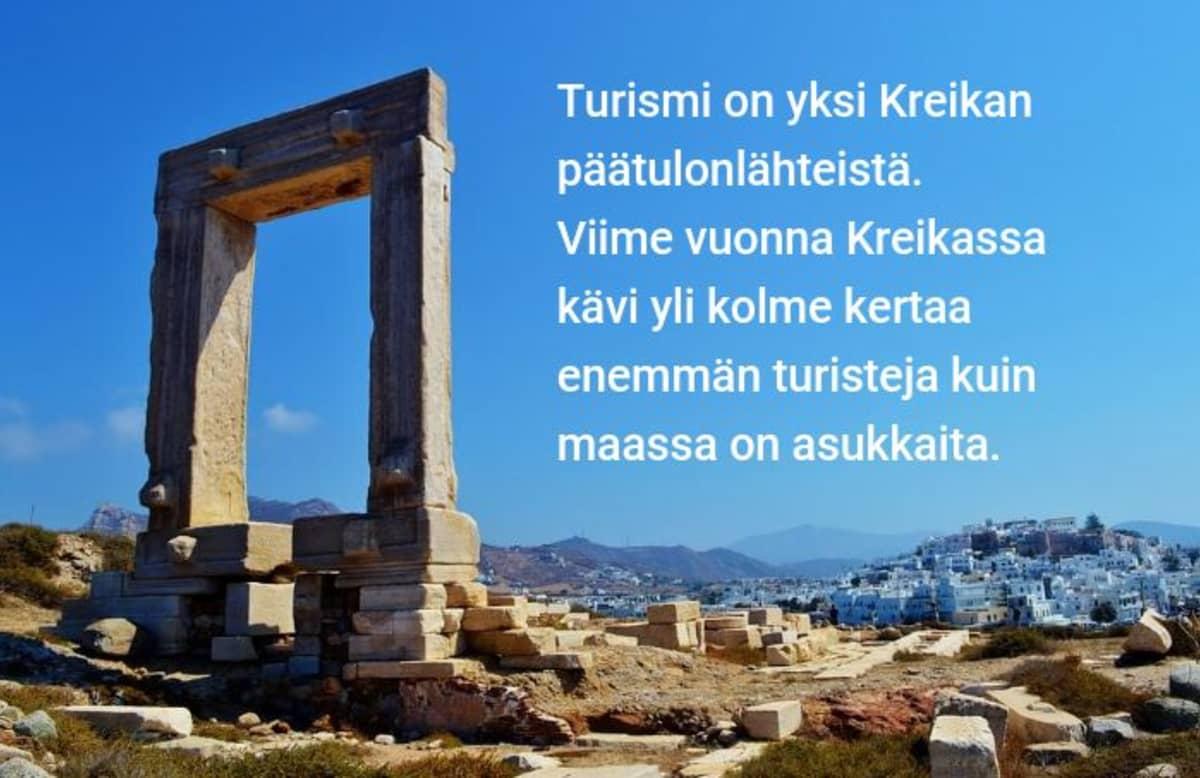 Kreikan turismi, Naxoksen saari
