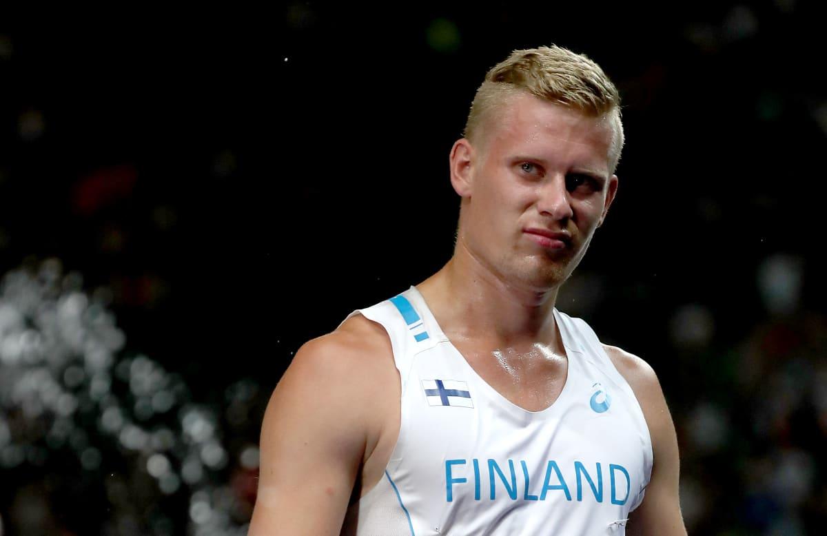 Elmo Savola EM-kisoissa 2018.