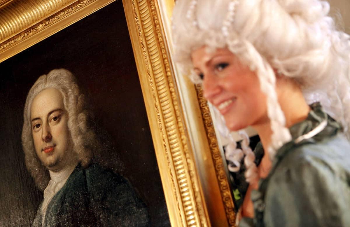 Muotokuva Georg Friedrich Händelista.