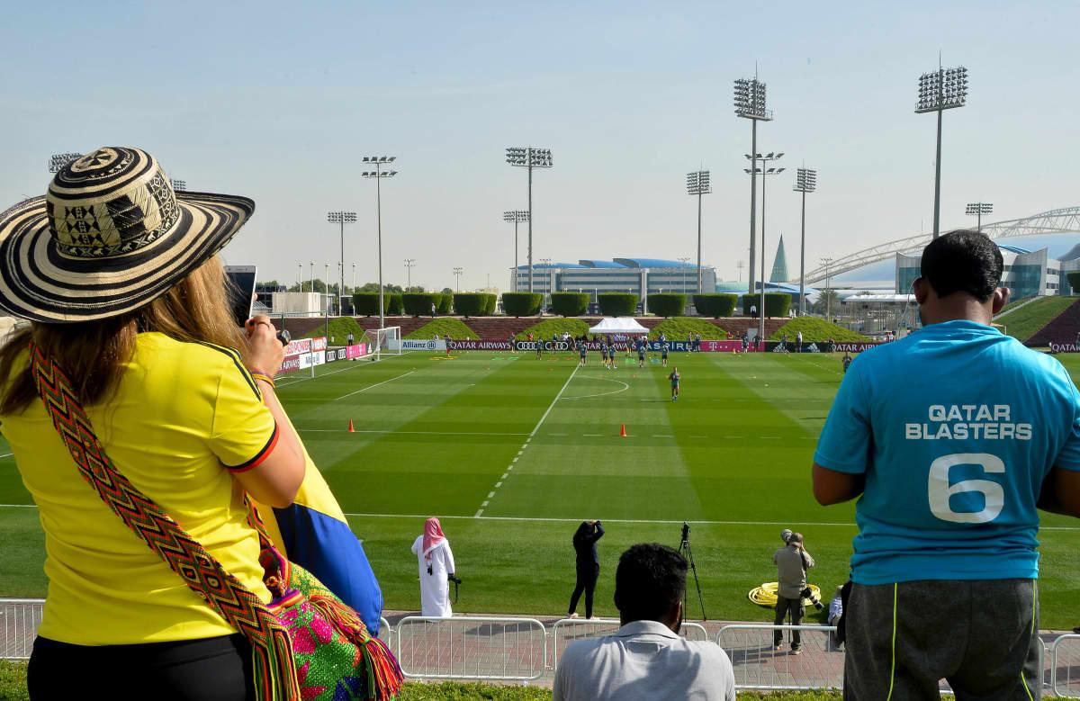 Näissä olosuhteissa Bayern München harjoittelee Qatarissa