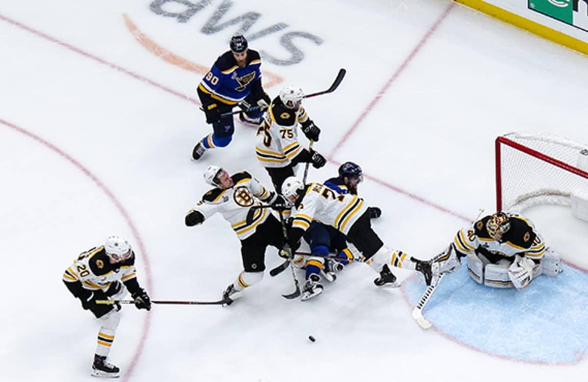 Maalineduspaini Stanley Cupin finaalissa.