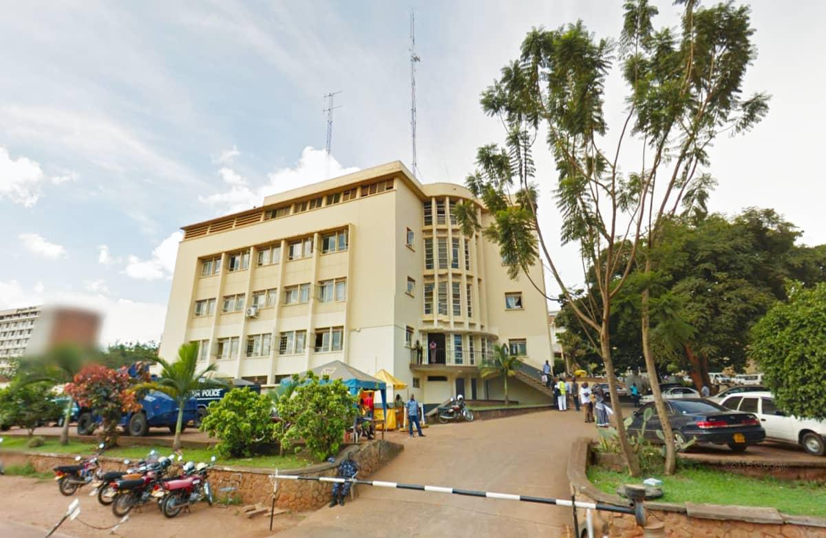 Kuva Kampalan pääpoliisiasemasta.