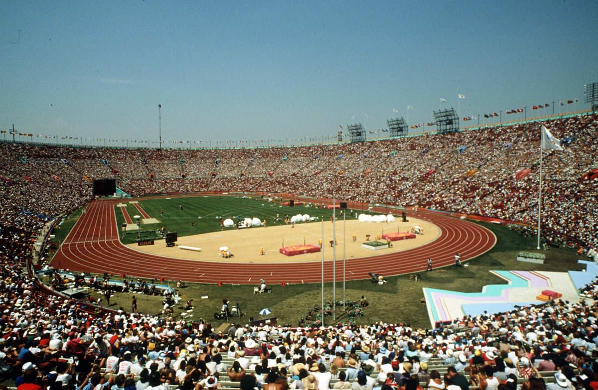 Los Angelesin olympialaiset 1984.