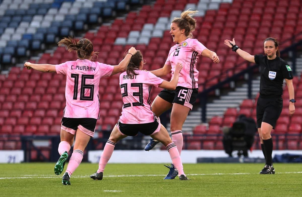 Skotlannin naisten jalkapallomaajoukkue