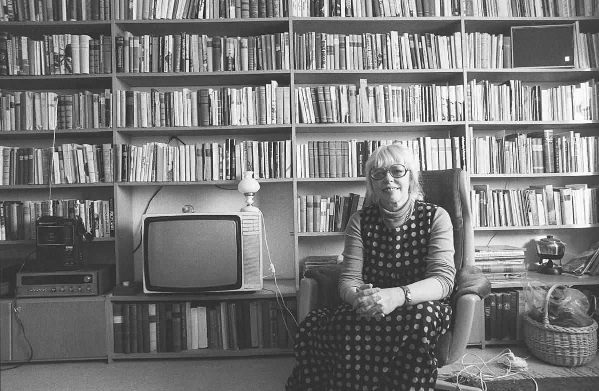 Aila Meriluoto vuonna 1979.