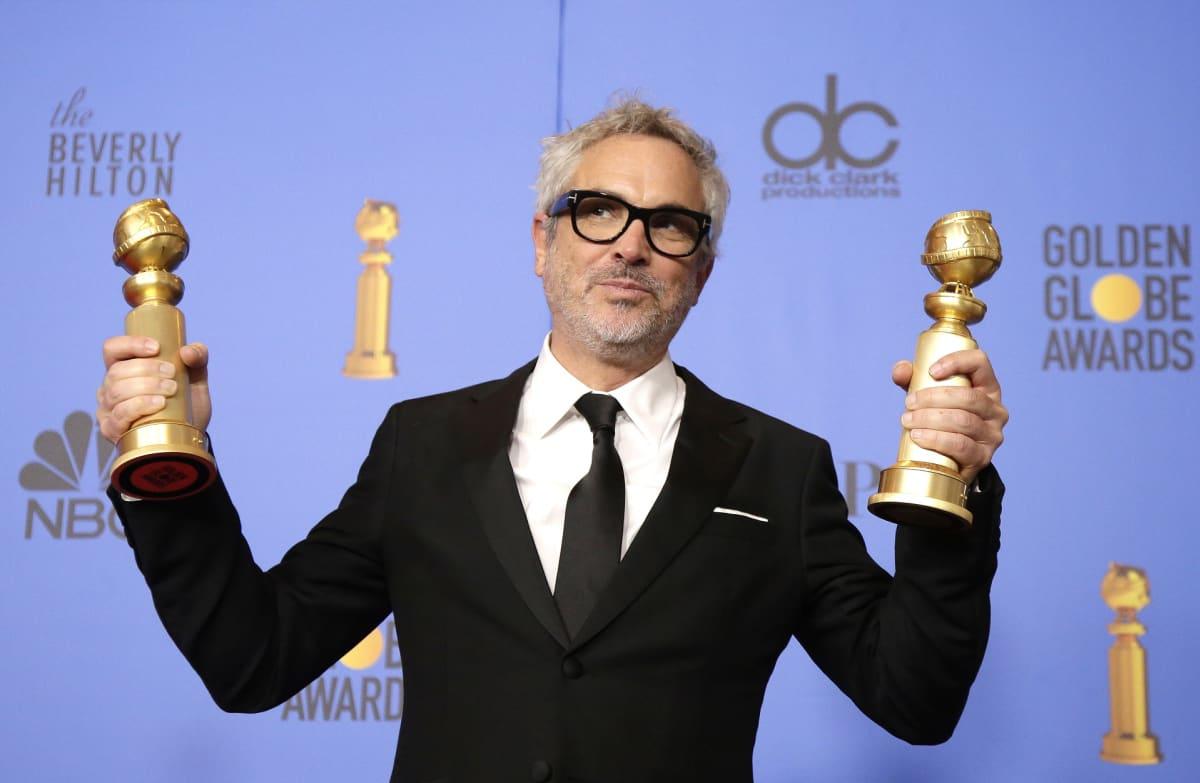 Alfonso Cuaron vei kotiin parhaan ohjaajan ja parhaan vieraskielisen elokuvan palkinnot.