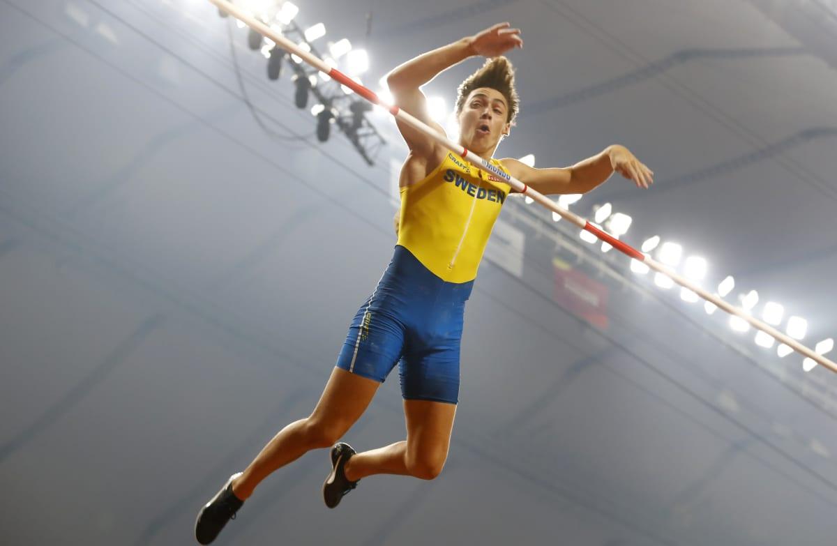 Armand Duplantis i VM 2019.