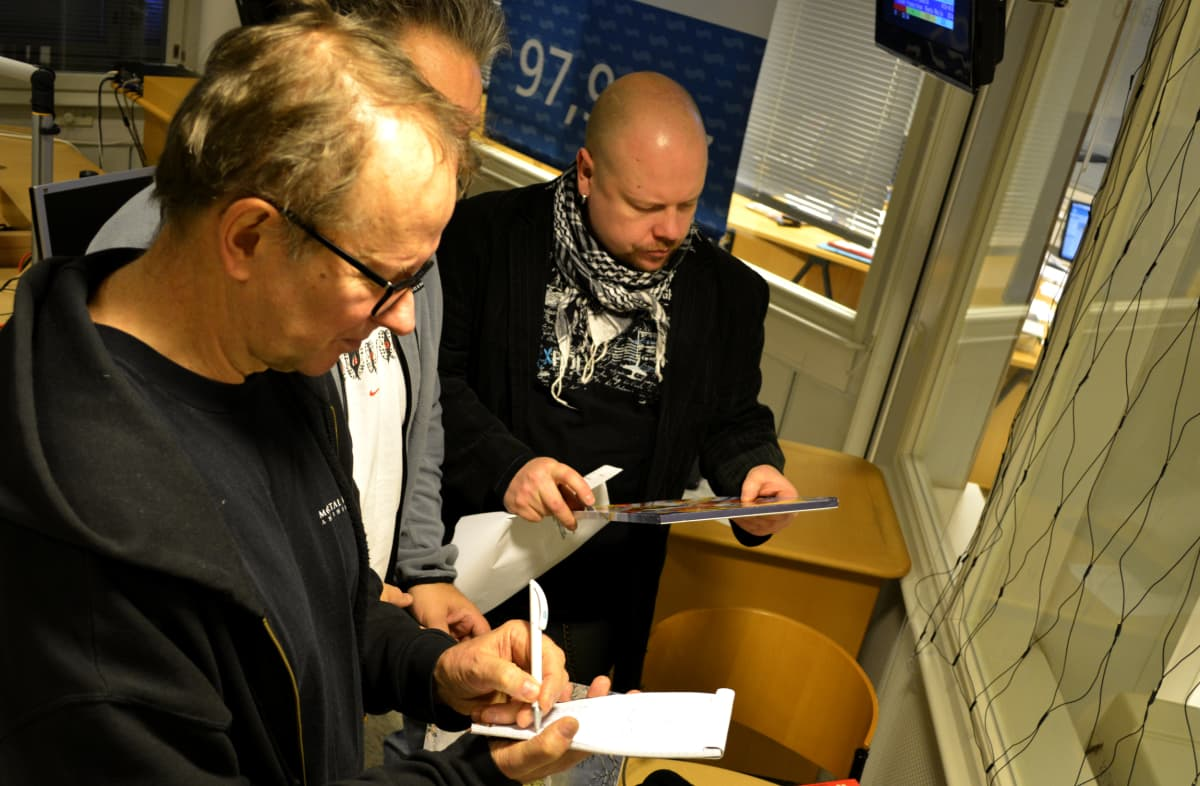 Tapani Ripatti, Hanski Kinnunen ja Juha-Petri Koponen