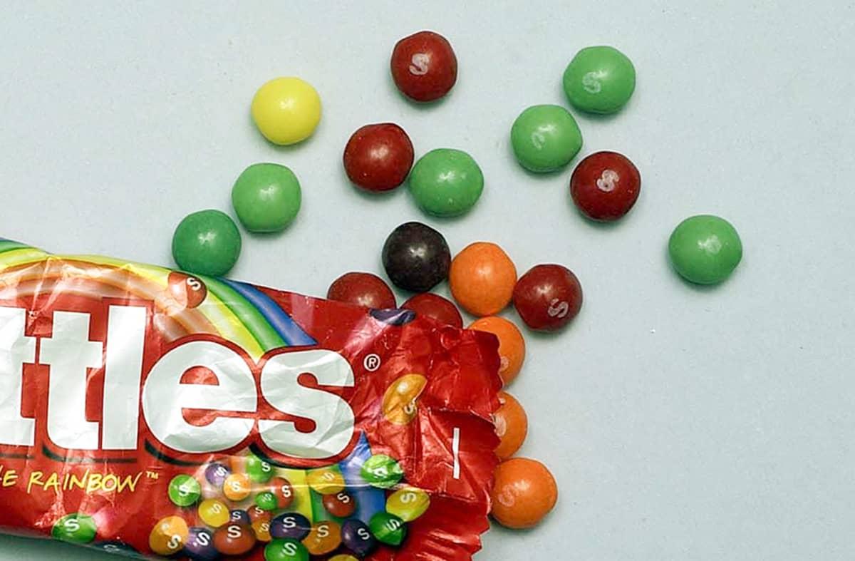 Skittles Karamelli.