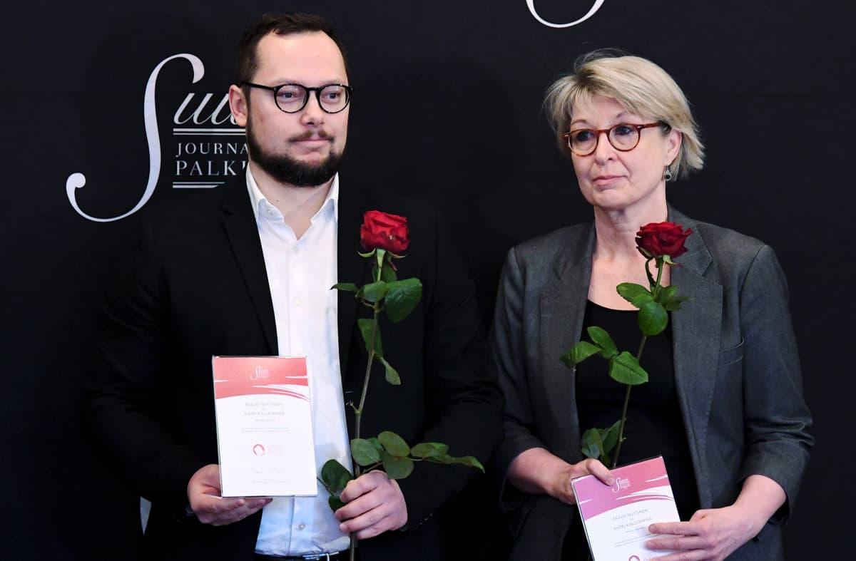 Paavo Teittinen ja Katri Kallionpää