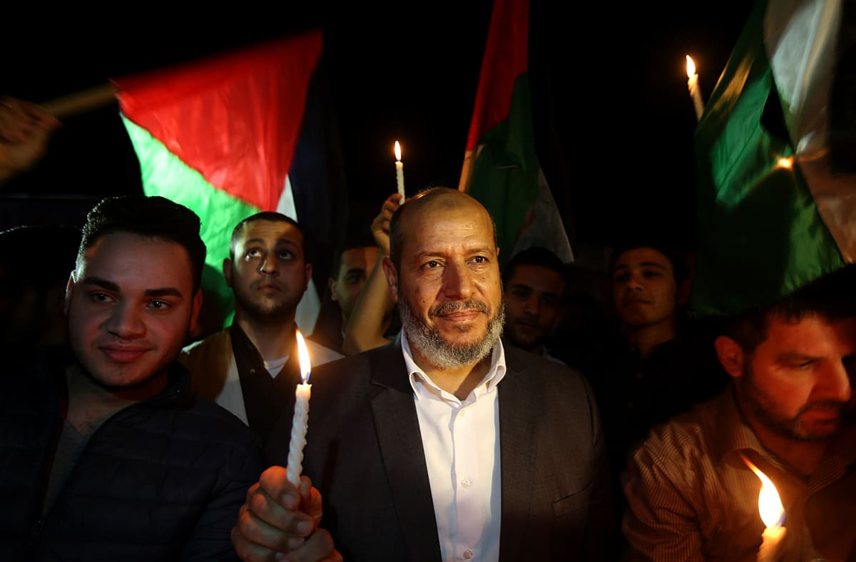 Hamasin varajohtaja Khalil al-Hayya