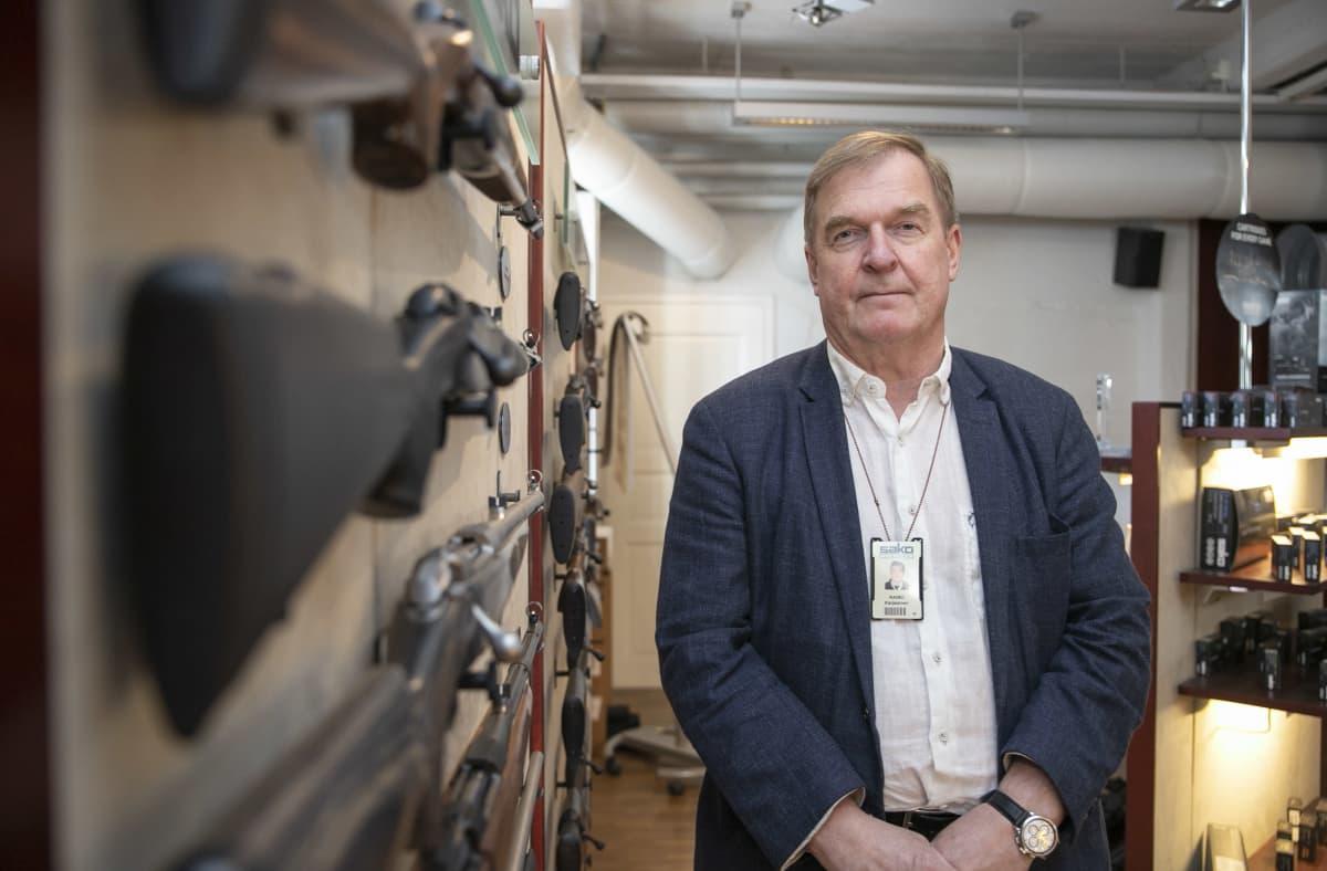Sakon toimitusjohtaja Raimo Karjalainen.