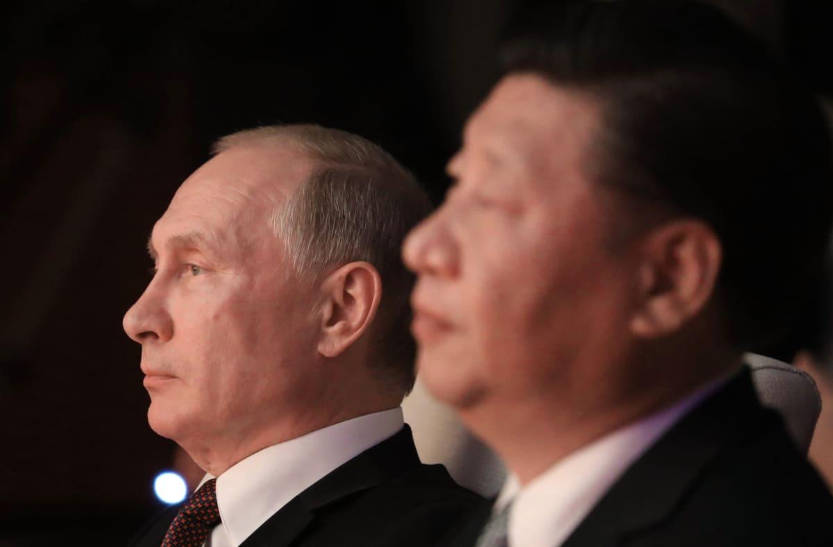 Vladimir Putin ja Xi Jinping