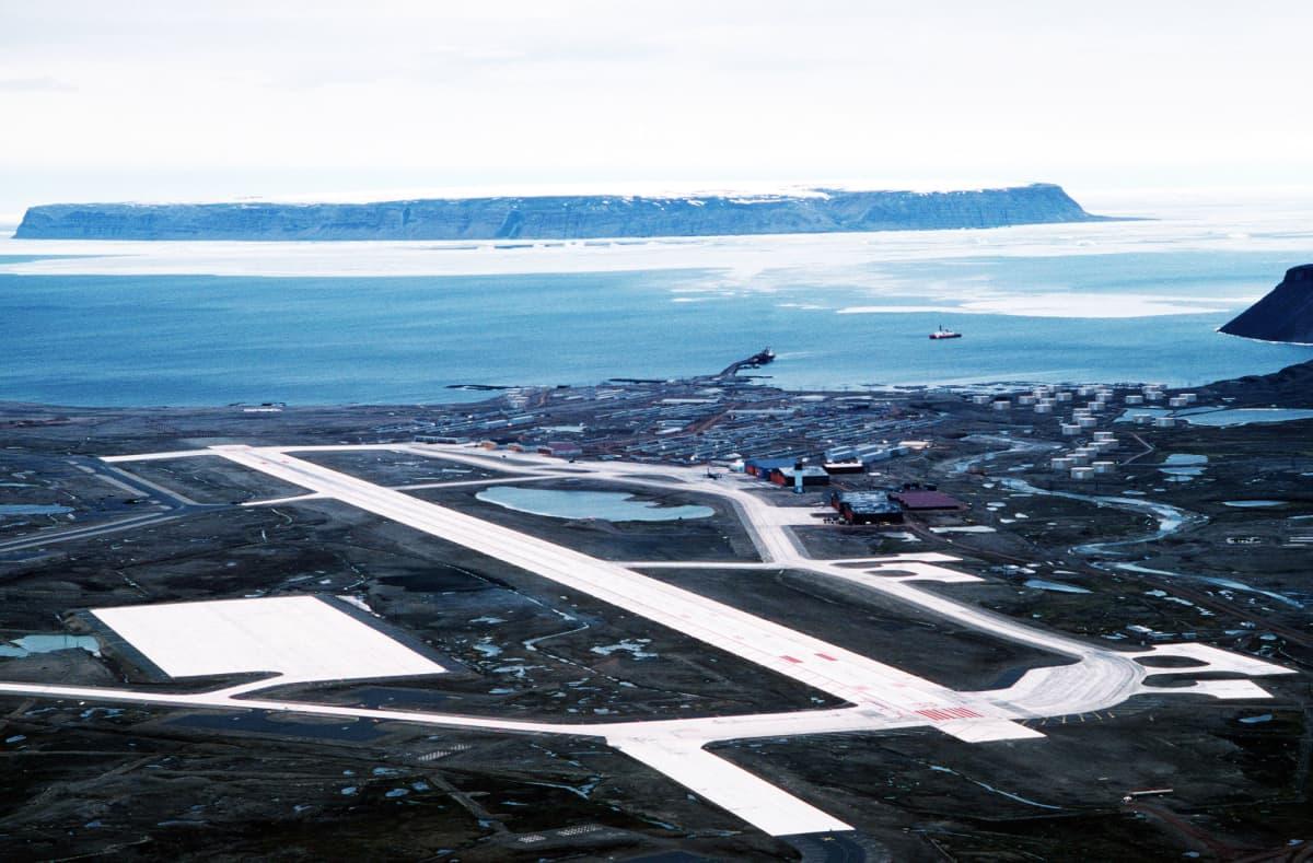 Thulen lentotukikohta Grönlannissa.