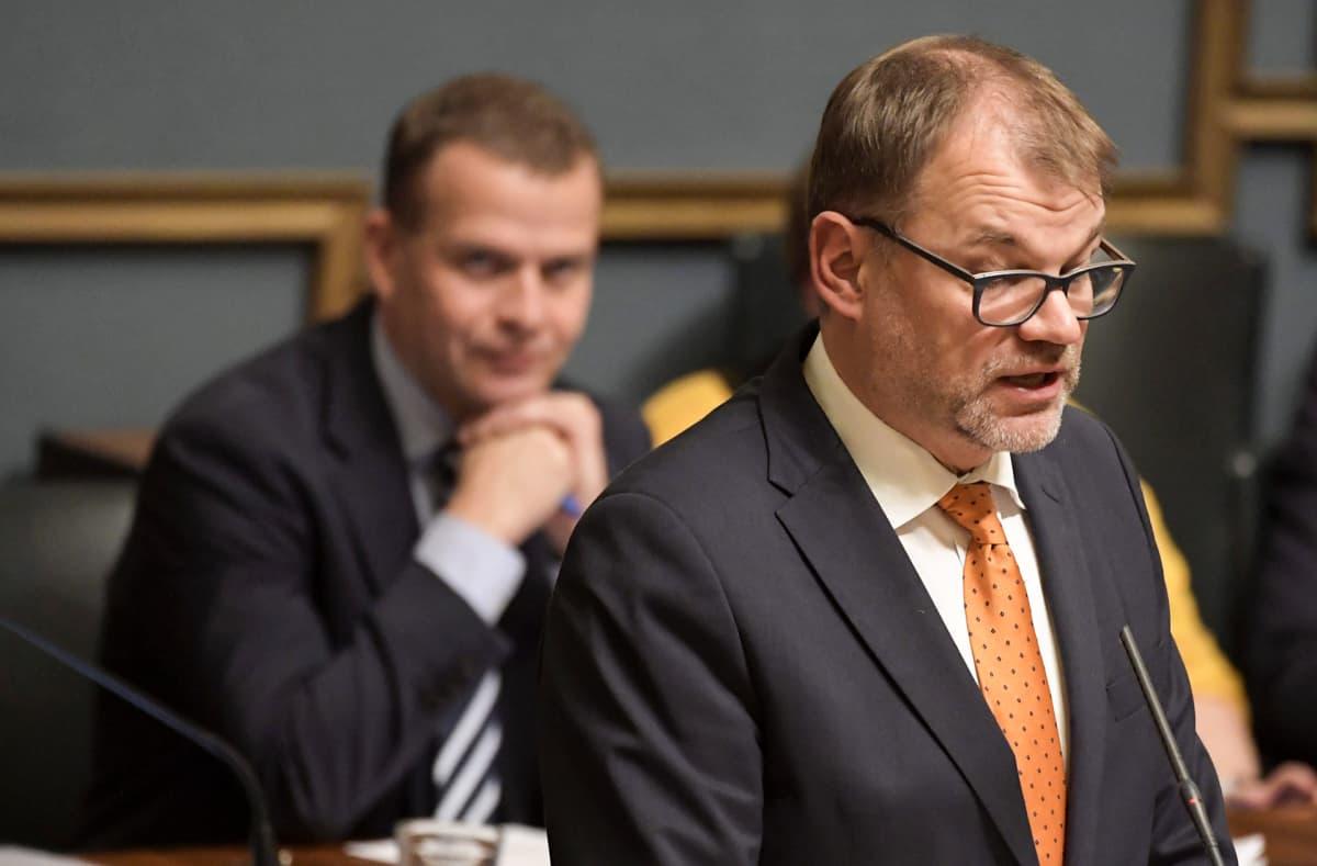 Juha Sipilä ja Petteri Orpo