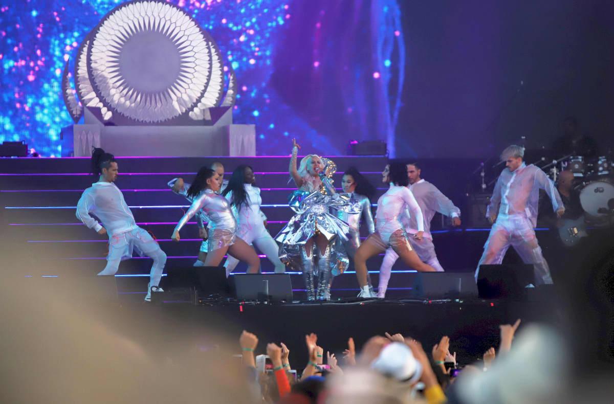 Christina Aguilera esiintyy Pori Jazzeilla