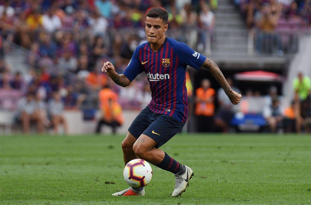 Brassitaituri Philippe Coutinho pelaa ensimmäistä täyttä kauttaan FC Barcelonassa.