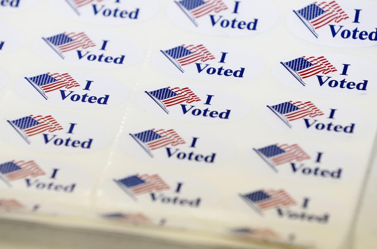 """I voted"" tarroja."