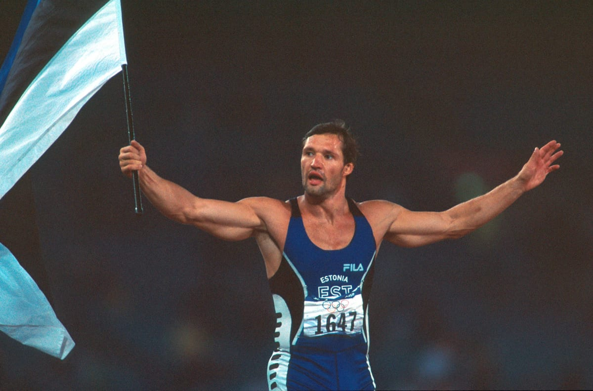 Viron Erki Nool voitti kymmenottelun olympiakultaa vuonna 2000 Sydneyssa.