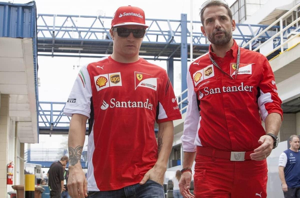 Kimi Räikkönen Brasilian GP:ssä