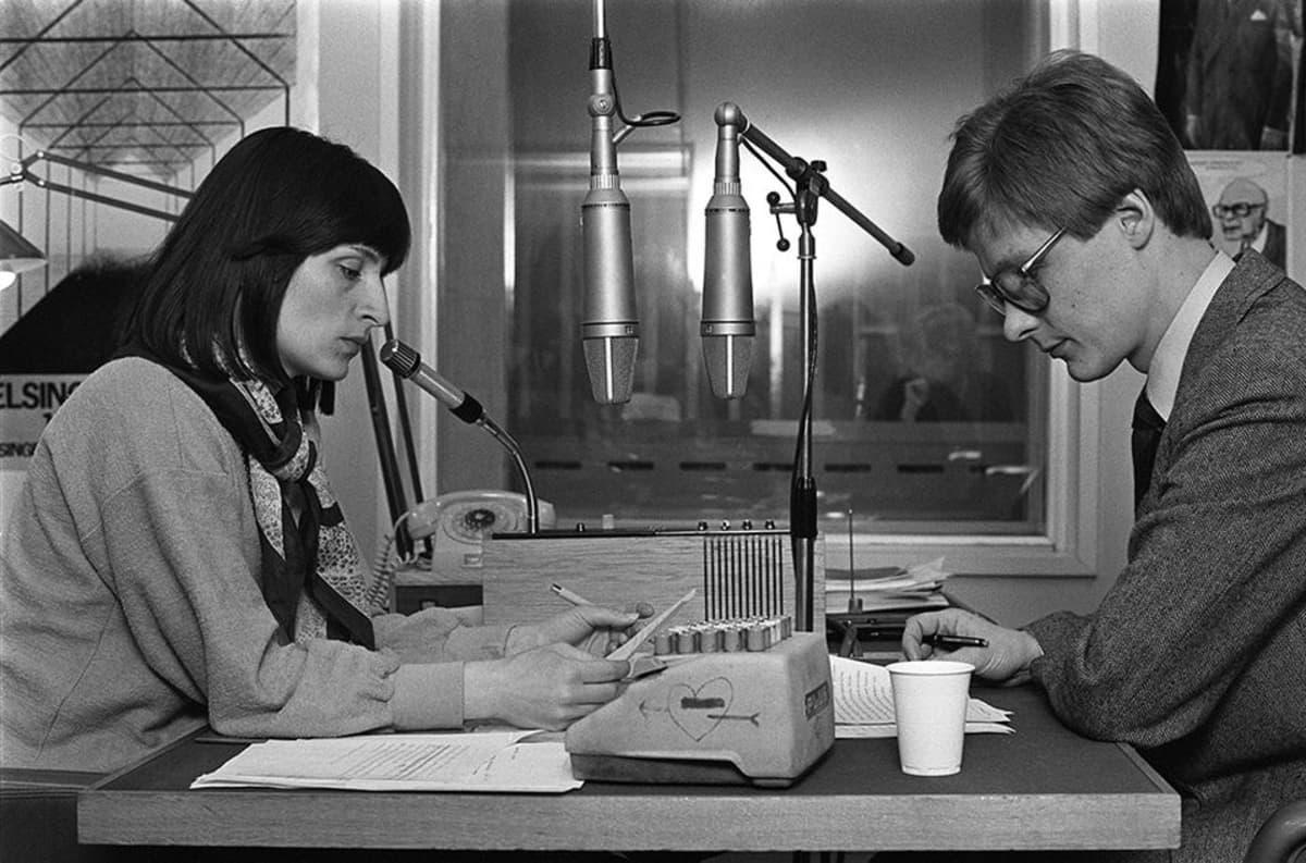 Eva Polttila ja Ossi Kervinen.