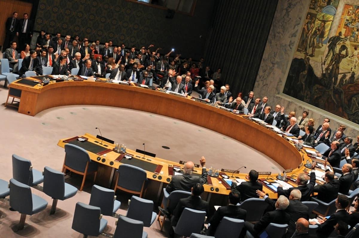 YK:n turvallisuusneuvoston kokous 27.9.2013