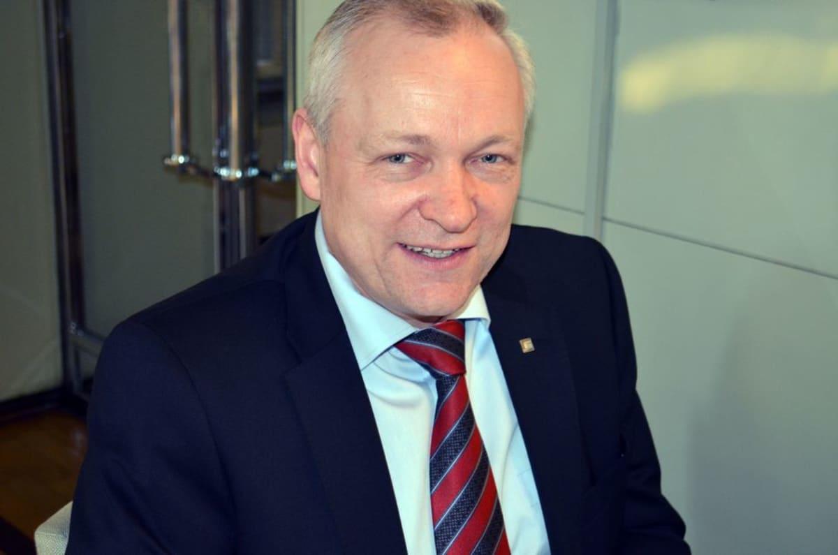 Kansanedustaja Kalle Jokinen.