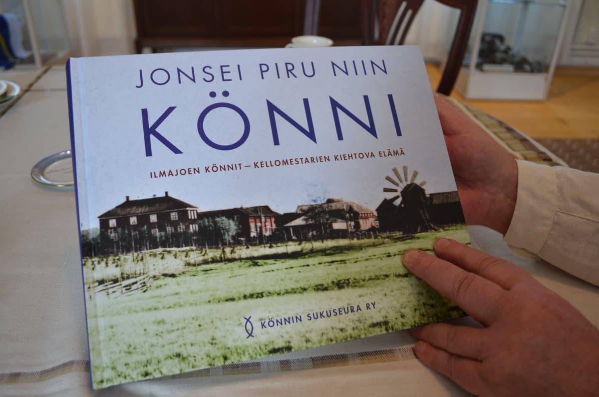 Könnin suvun uusi sukukirja julkaistiin toukokuussa 2021