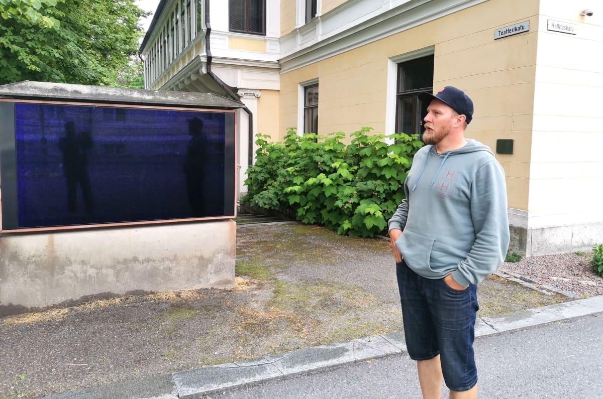 Näyttelijä Janne Turkki