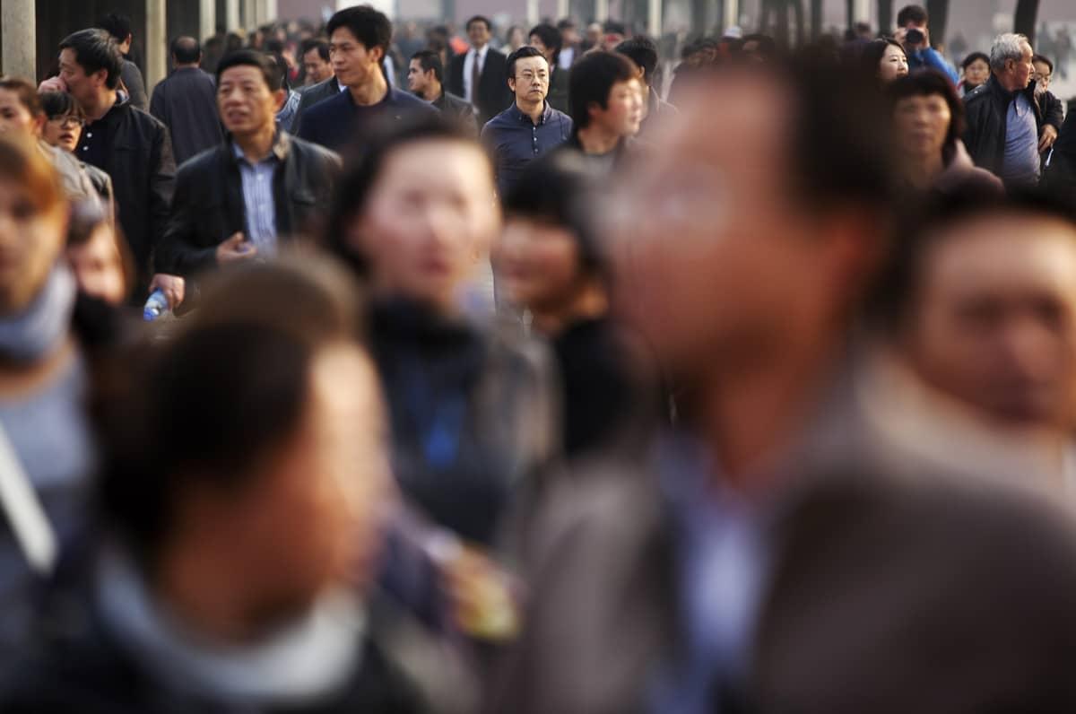Katukuva Pekingistä.