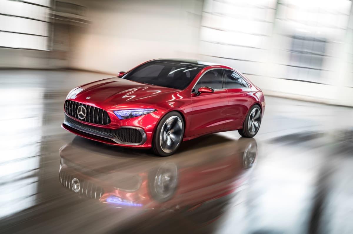 Mercedes-Benz vauhdissa