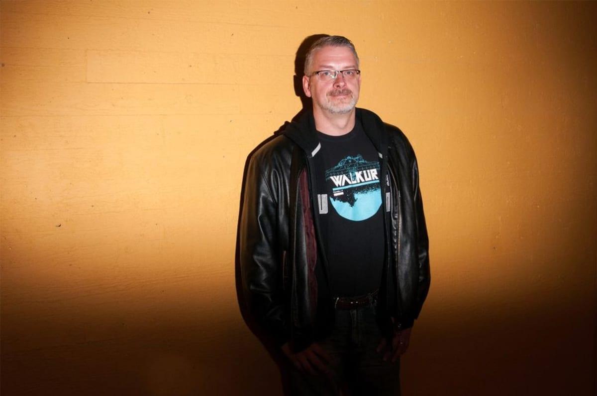 Kirjailija Marko Kilpi.