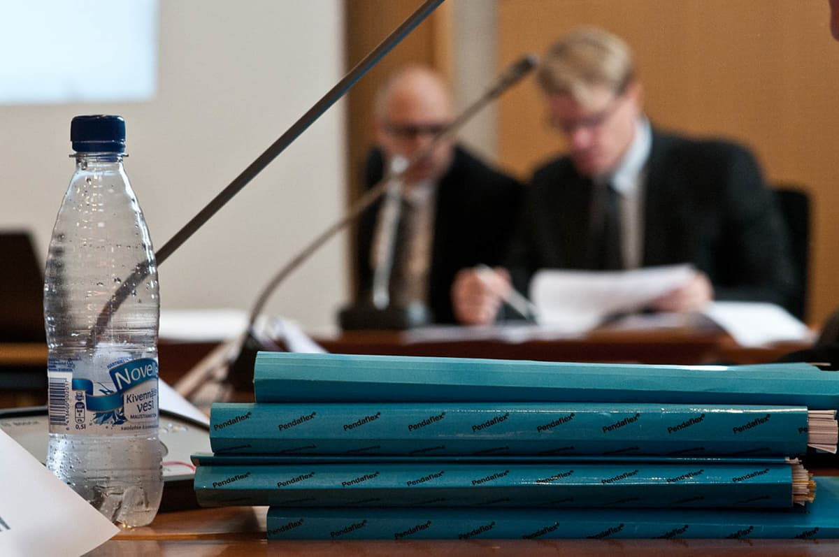 Wincapitan rikoshyötyjuttujen käsittely Pohjois-Savon käräjäoikeudessa.