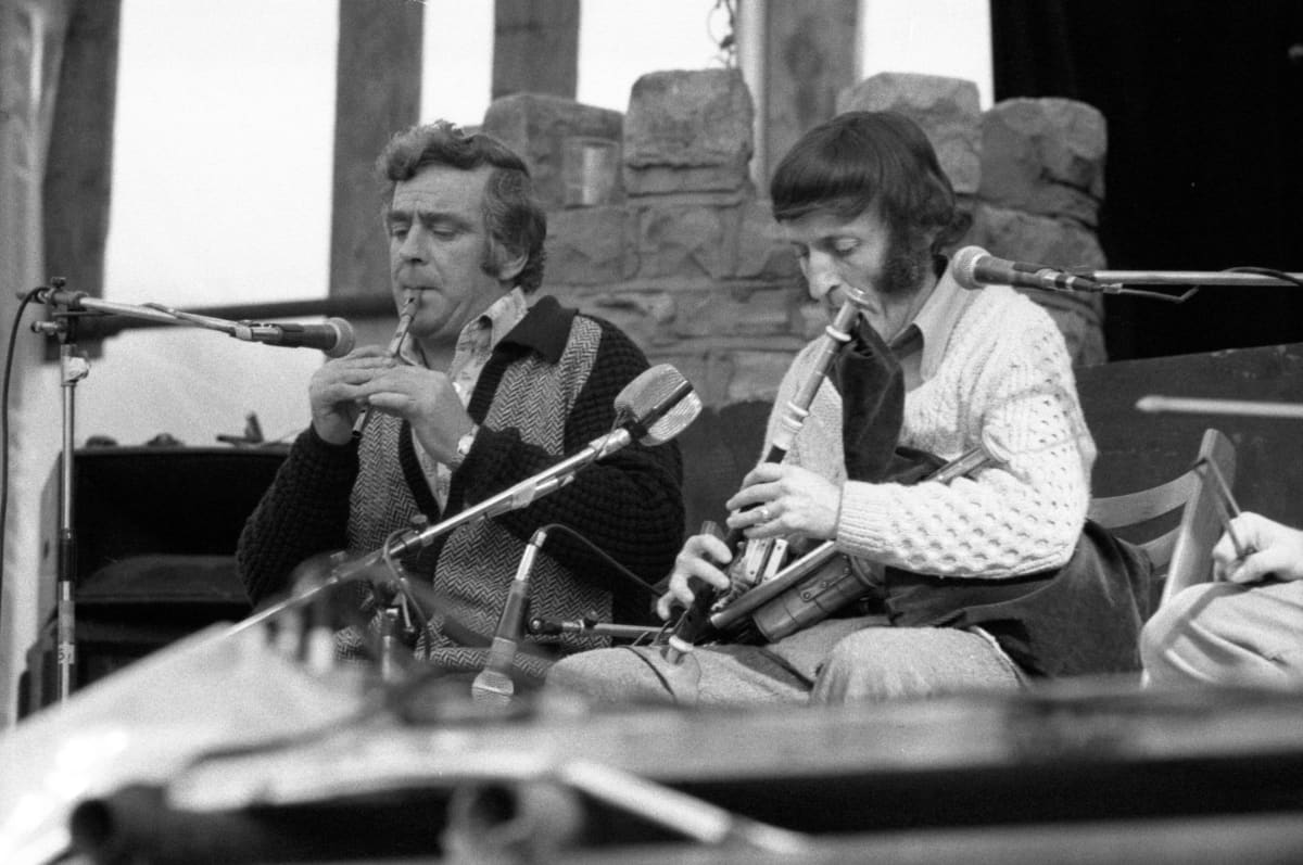 Seán Potts ja Paddy Moloney.