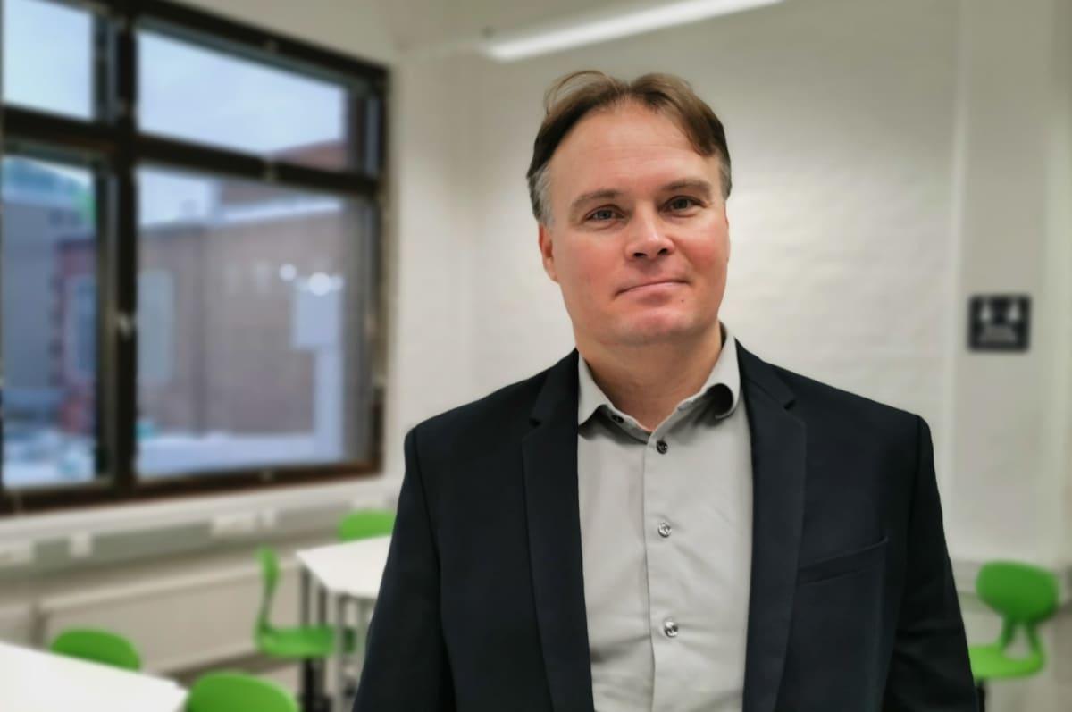 SASKY koulutuskuntayhtymän johtaja Antti Lahti
