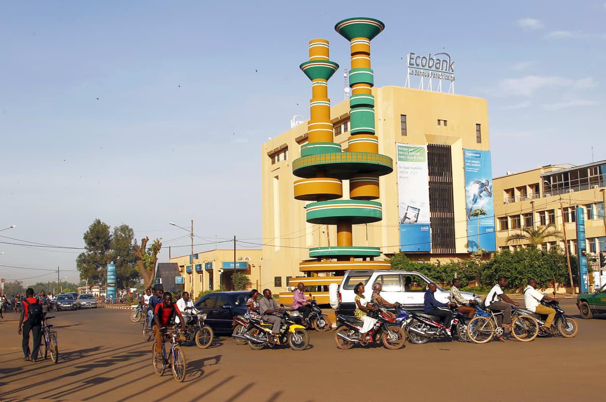 Näkymä Burkina Fason pääkaupungista Ouagadougousta.